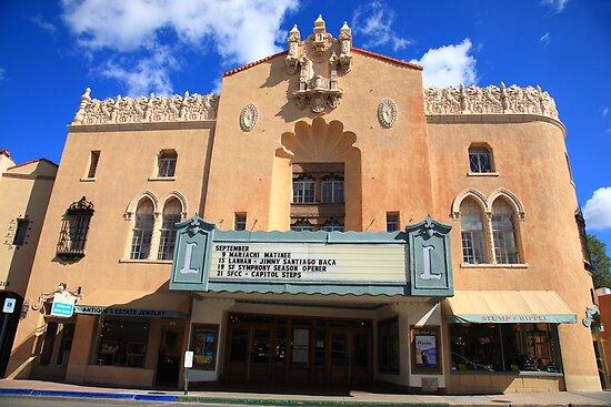 Santa Fe - Adobe Theater by Frank Romeo