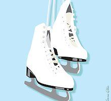Ice Skates - Ready To Wear by Victoria Ellis