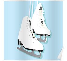 Ice Skates - Ready To Wear Poster