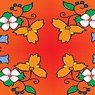 floral design #1 by mylittlenative