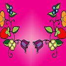 floral design #3 by mylittlenative