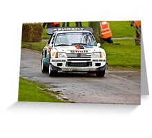 Peugeot 205 T16 Greeting Card