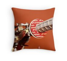 Bike handlebar, Honda Throw Pillow