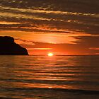 GREAT ORME, LLANDUDNO, SUNSET 2 by Phil  WEBB