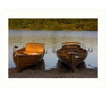 DERWENTWATER LAUNCHES Art Print