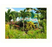 Caribbean Garden Art Print