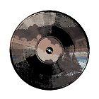 Woodsy Vinyl square by Phillip J. Mellen