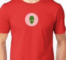 Alien Face T-Shirt - I Love Aliens Phone Cover Unisex T-Shirt