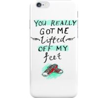 lifted off my feet (illusion) iPhone Case/Skin
