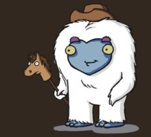 Yeti Cowboy by killerpeapods
