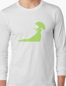 Bride in Green Long Sleeve T-Shirt