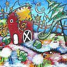 A Barnyard Christmas by Juli Cady Ryan
