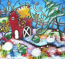 A Barnyard Christmas by Juli Cady Ryan