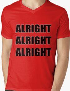 Alright Alright Alright  Mens V-Neck T-Shirt