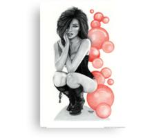 """""""Bubble Boots"""" Canvas Print"""
