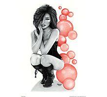 """Bubble Boots"" Photographic Print"