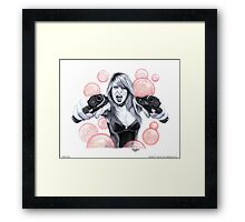 """Bubble Trouble"" Framed Print"