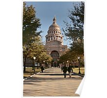 A Monday Morning at the State Capitol Poster