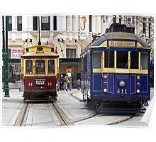 Christchurch Trams Poster
