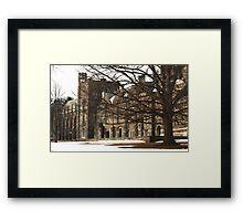 Old Graduate College Framed Print