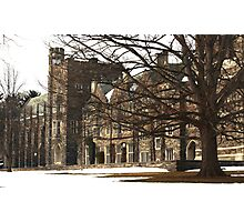Old Graduate College Photographic Print