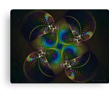 Ball Creatures Canvas Print