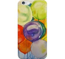 Happy balloons iPhone Case/Skin