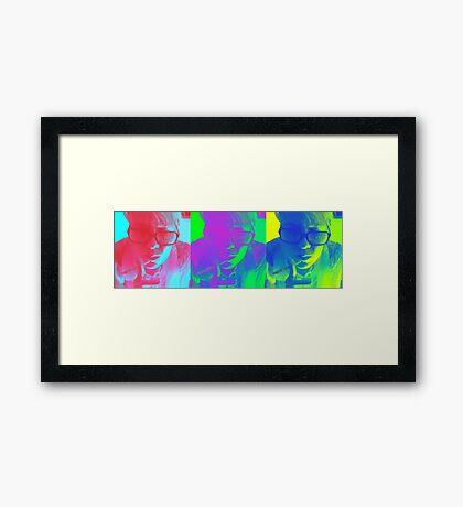 Color Me Framed Print