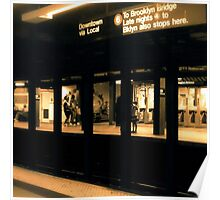 86th Street - NYC Poster