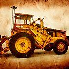 Tractor by Anki Hoglund