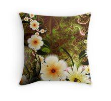 Royal Garden Sphere: SUMMER Throw Pillow
