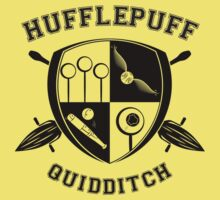 Hufflepuff  - Quidditch - Alt Color Kids Clothes