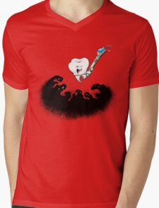 The Cavity Fighters Mens V-Neck T-Shirt
