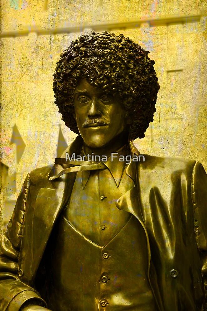 Philip Lynott Statue by Martina Fagan