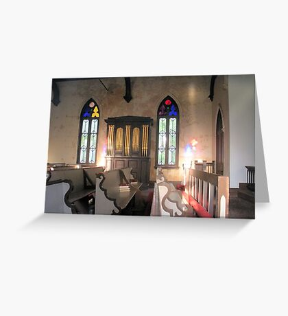 Holy Reflections Greeting Card