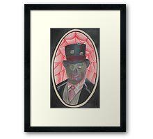 Zombie Gentleman Framed Print