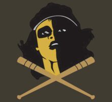 Baseball Furies Skull & Crossbones by CDSmiles