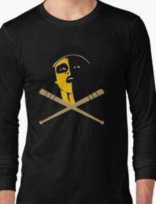 Baseball Furies Skull & Crossbones Long Sleeve T-Shirt
