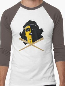 Baseball Furies Skull & Crossbones Men's Baseball ¾ T-Shirt