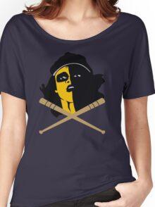 Baseball Furies Skull & Crossbones Women's Relaxed Fit T-Shirt