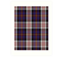 00565 Cameron of Erracht Dress Clan/Family Tartan  Art Print