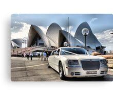 To the Opera Canvas Print
