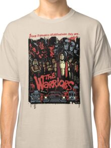 The Warriors Poster Classic T-Shirt