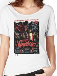 The Warriors Poster Women's Relaxed Fit T-Shirt