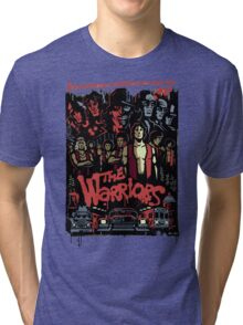 The Warriors Poster Tri-blend T-Shirt