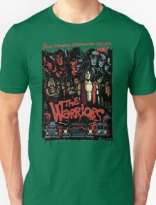 The Warriors Poster Unisex T-Shirt