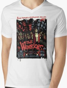 The Warriors Poster Mens V-Neck T-Shirt