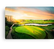 Golfing the Gong - Grand Vista Canvas Print