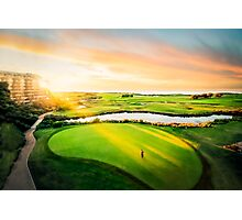 Golfing the Gong - Grand Vista Photographic Print