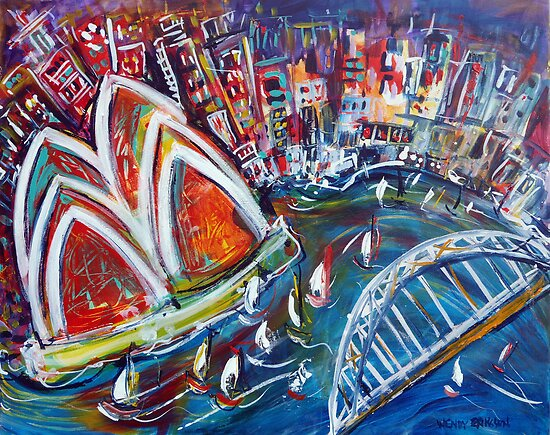 Celebrating Sydney by Wendy Eriksson